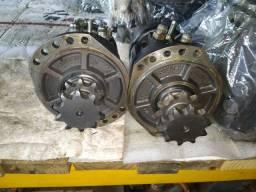 Motor tração minicarregadeira