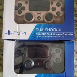 Controle PS4 Sony original sem fio Rose Gold e Black light  SÓ HOJE 200,00