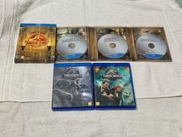 Blu Ray Coleção: Jurassic Park Edição Especial - Todos! Originais