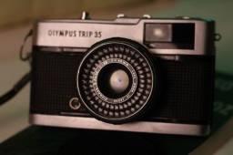 Câmera Analógica - Olympus Trip 35