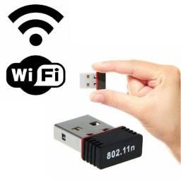 NOVO! Adaptador Wifi Wireless Usb Nano802.11n 150mbps