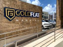 Vendo excelente apto novo mobiliado no Gold Flat !