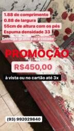PROMOÇÃO CAMAS UNIBOX DE SOLTEIRO