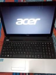 Notebook Acer e1-571-6-br642- intel core i3- seminovo 500gb hd+4gb memória