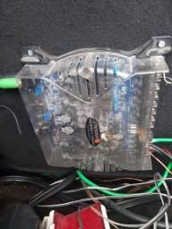 Módulo Stetsom Vision Vs 600.4 600w e Módulo SW800i 1 channel Modelo Falcon