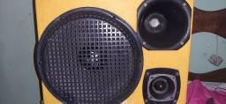 Caixa de som e jogo de luz laser pra negócio