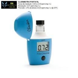 Calibração medido cloro