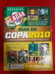Revista Placar guia da copa de 2010 futebol