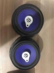 1 (Hum) par de Alto falante Triaxial 6´´ 50w Triaxial Speaker    PN VW