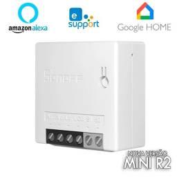 Sonoff Mini R2 Interruptor Wifi Automação Alexa Google Home Pronta Entrega