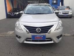 Nissan Versa 2017 1.6 SL Automatico Completo + Couro *Unico Dono. Novissimo