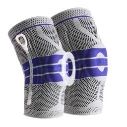 Joelheira de Alta Compressão - tecido 3d - previne lesões
