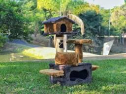 Arranhador de gato sem uso,produto feito em pelúcia, entrega grátis campinas e região