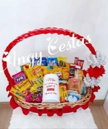 Promoção de cestas para retirada