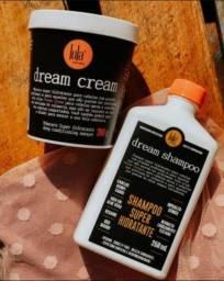 Kit para cabelo Dream Cream da Lola Cosmetics