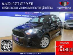 Ford Ka Hatch 1.0 SE TI-VCT Flex Completo Ótimo Estado
