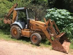 Retro-escavadeira case