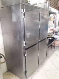 Freezer inox  para restaurantes ou açougue