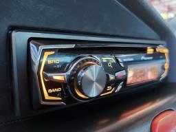 Pioneer golfinho multicor/ CD/ USB/ SD até 2tera/ regulagens para som P/ som pesado