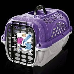 Caixa de transporte para cães e gatos n°1 parther lilás