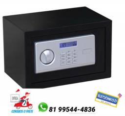 Cofre Digital - Klatter - Com Visor Lcd 31cm X 20cm X 20cm só zap