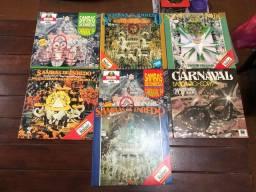 Disco Vinil/LP - Samba de Enredo e Carnaval - Item Colecionador