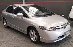 New Civic LXS 1.8 Flex Aut. 2008 Prata