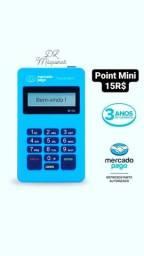 Máquina De Cartão Point Mini Mercado Pago Preço Imperdível.
