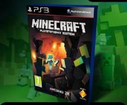 Minecraft Ps3 - Completo Em Português