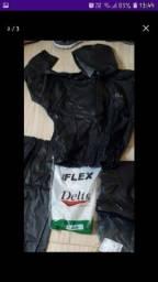 Pra vender logo kit motoqueiro capa , calça e bota