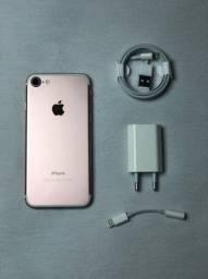 IPhone 7 Rose 32GB Impecável