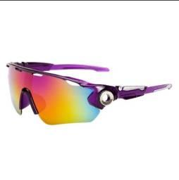Óculos de Sol Esportivo / Ciclismo (Novos)