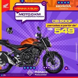 Título do anúncio: Conquiste sua HONDA-CB 500F
