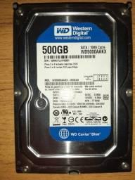 HD 500GB Seminovo
