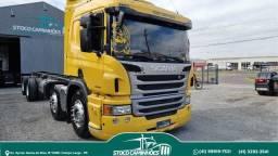 Scania P310, automatica, 8x2, unico dono, 2013, impecavel