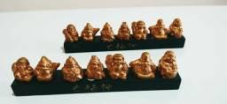 Sete sábios Resina rico em detalhes Preço para as duas peças