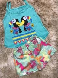 Promoção roupa infantil/ conjunto/ pijama/ vestido qualquer peça 25,99