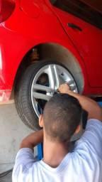 Vendo 4 pneus 165 40 17 zeros pouco usado