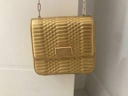 Bolsa Schutz Dourada