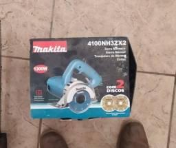 Serra Mármore Makita 4100nh3zx2 Com 2 Discos 1300w