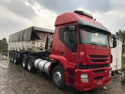 Caminhão Iveco stralis 380 basculante fachini 2009
