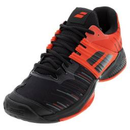 Tênis Babolat Propulse Fury Clay Men Black / Tomato Red