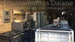 Loja / Empresa de equipamentos, balança, balcao, coifa, maquina de frango,geladeira