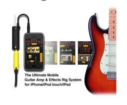 Título do anúncio: Irig Adaptador interface Guitarra para IOS iPhone/iPad/iPod  (Amplitube)