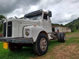 Caminhão Scania jacaré.