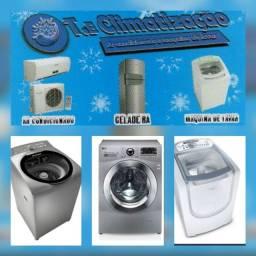 Concerto Geladeira, máquina de lavar, freezer e ar-condicionado