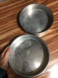 Formas de bolo alumínio