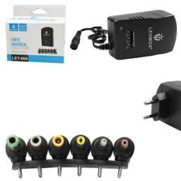 Título do anúncio: Fonte Universal Com Regulagem Com 6 Plugs 3.5A Lehmox LEY-668