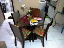 Mesa 4 lugares R$450