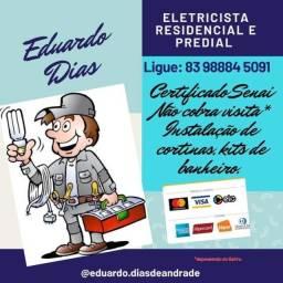 Eduardo Eletricista, Predial e Residencial.